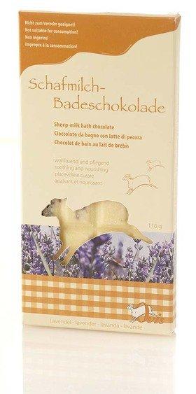 Ovis Badeschokolade Lavendel 16 x 7,5 cm 110 g