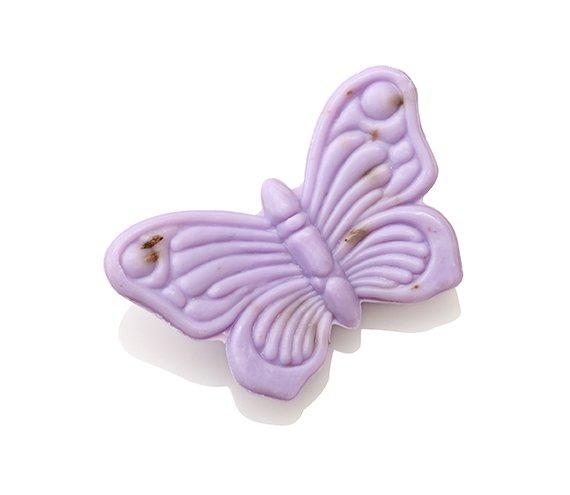 Ovis-Seife Schmetterling Lavendel 8 cm 30 g