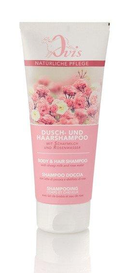 Ovis Dusch- u. Haarshampoo mit Rosenwasser 200 ml