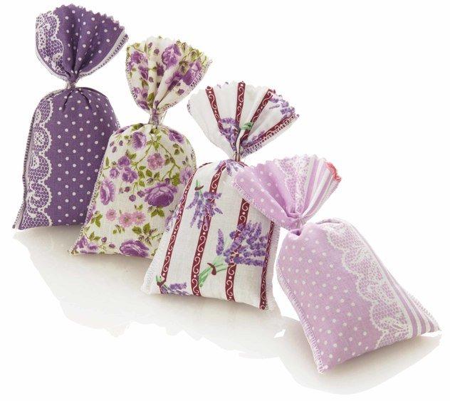Säckchen m. Lavendel ca. 12 g 12 x 7 cm 4-sort.