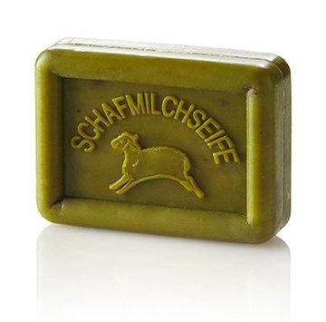 Ovis-Seife Eckig-Schaf Olive-grün 8,5 x 6 cm 100 g